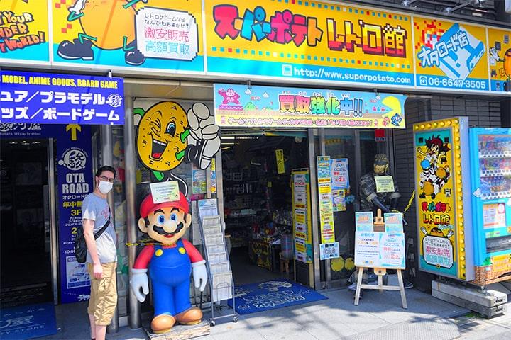 """满足御宅族喜好的游戏和漫画店""""Super Potato 复古馆"""""""