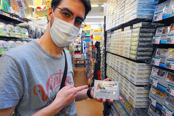 Super Famicom的卡带
