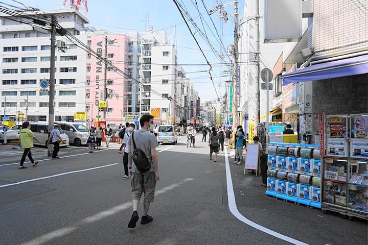 日本桥OTA-ROAD很适合散步