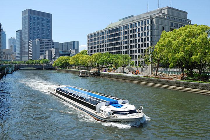 水都大阪特色的中之岛游船
