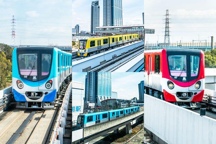试着乘坐了Osaka Metro! 沿线系列 连载 《新电车》