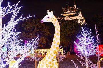 大阪城ILLUMINAGE灯光秀_在大阪的灯光秀之中享有人气