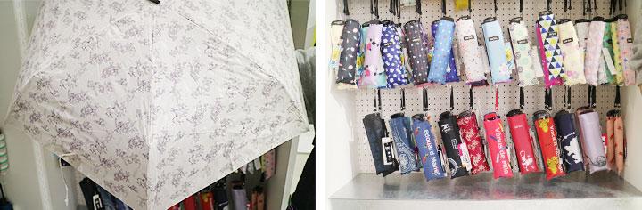采用日式图案和名画设计的雨伞,还有鸟兽戏画