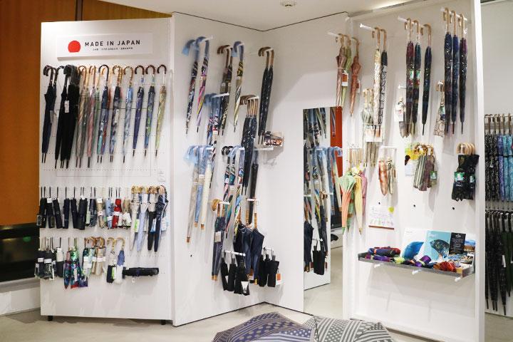 Made in Japan的奢侈雨伞也很受外国人青睐