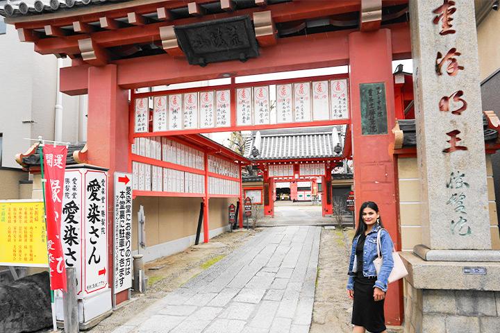 大阪市内最古老的建筑爱染堂