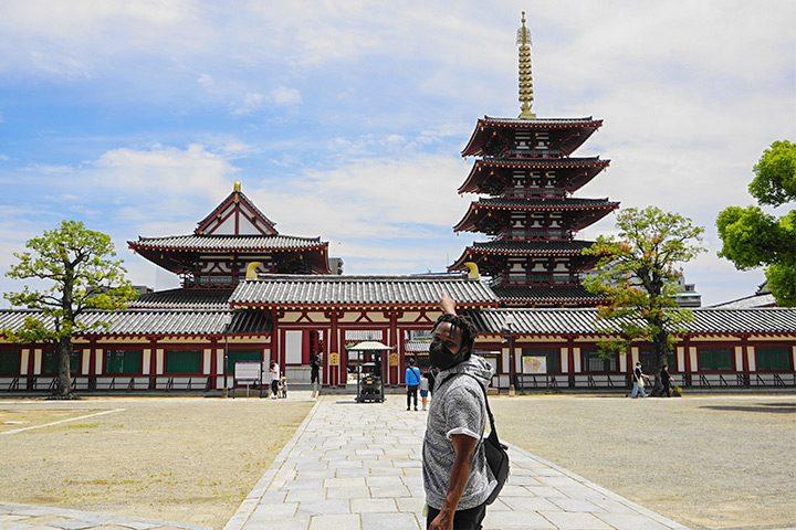 圣德太子修建的日本最古老的寺庙--四天王寺